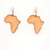 Africa Love Wood earrings